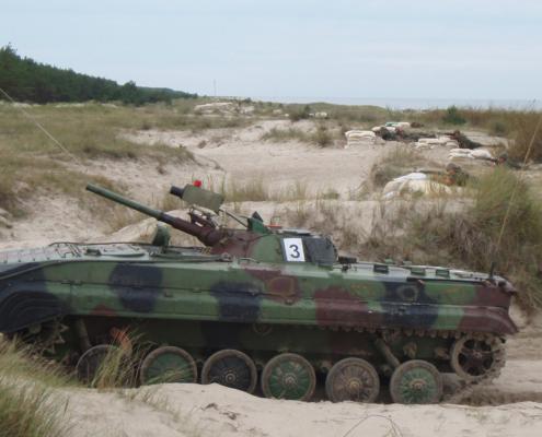 BMP 1 rynnäkköpanssarivaunu
