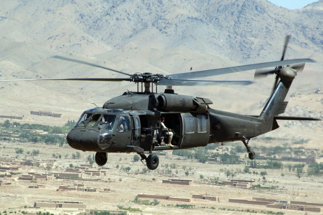 Sikorsky UH-60 Black Hawk kuljetushelikopteri