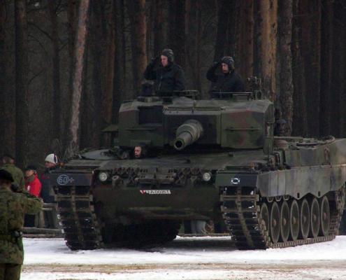 Leopard 2 taistelupanssarivaunu