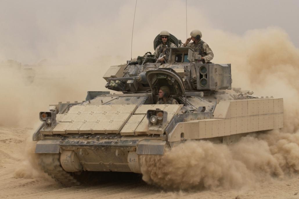 M2a3 Bradley jalkaväen taisteluvaunu